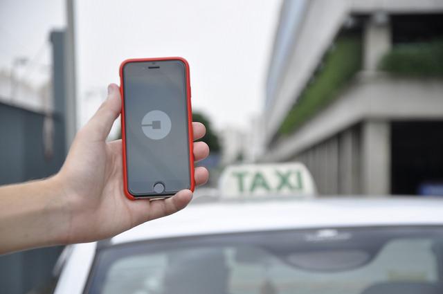 Information technologies: Uber, App or mean of transport?