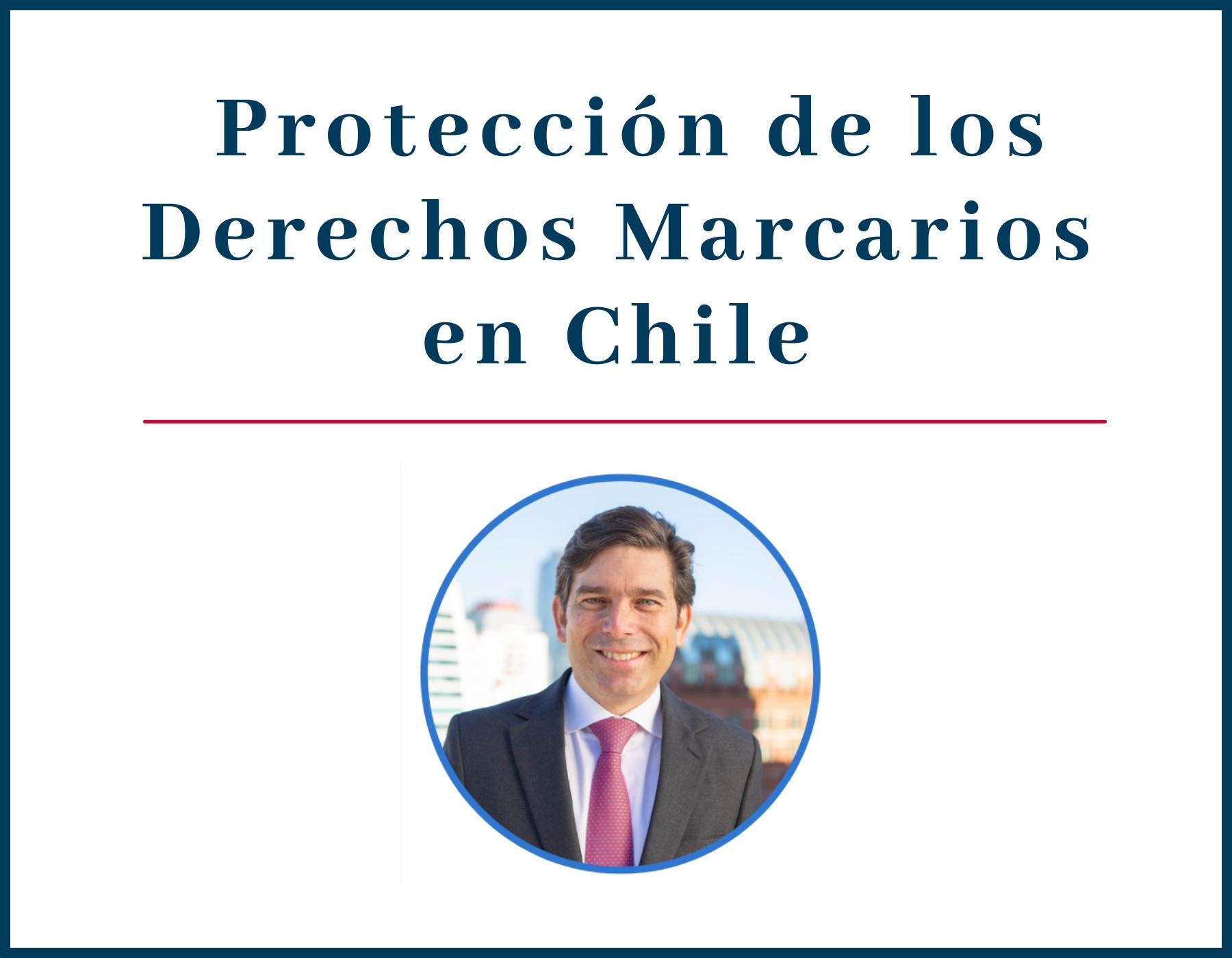 """Socio Arturo Covarrubias fue charlista invitado en la conferencia """"International Trademark Protection for US Trademark Owners in Chile""""."""